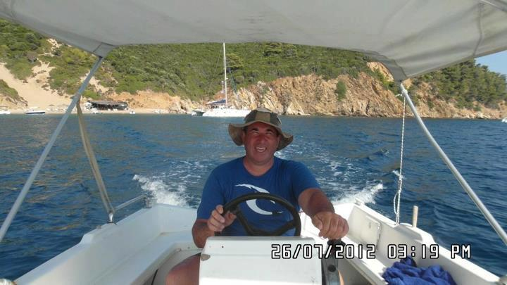 Boat rental in Skiathos at stefanos ski school