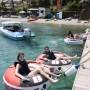 Ring rides,Tube rides in Skiathos at stefanos ski school