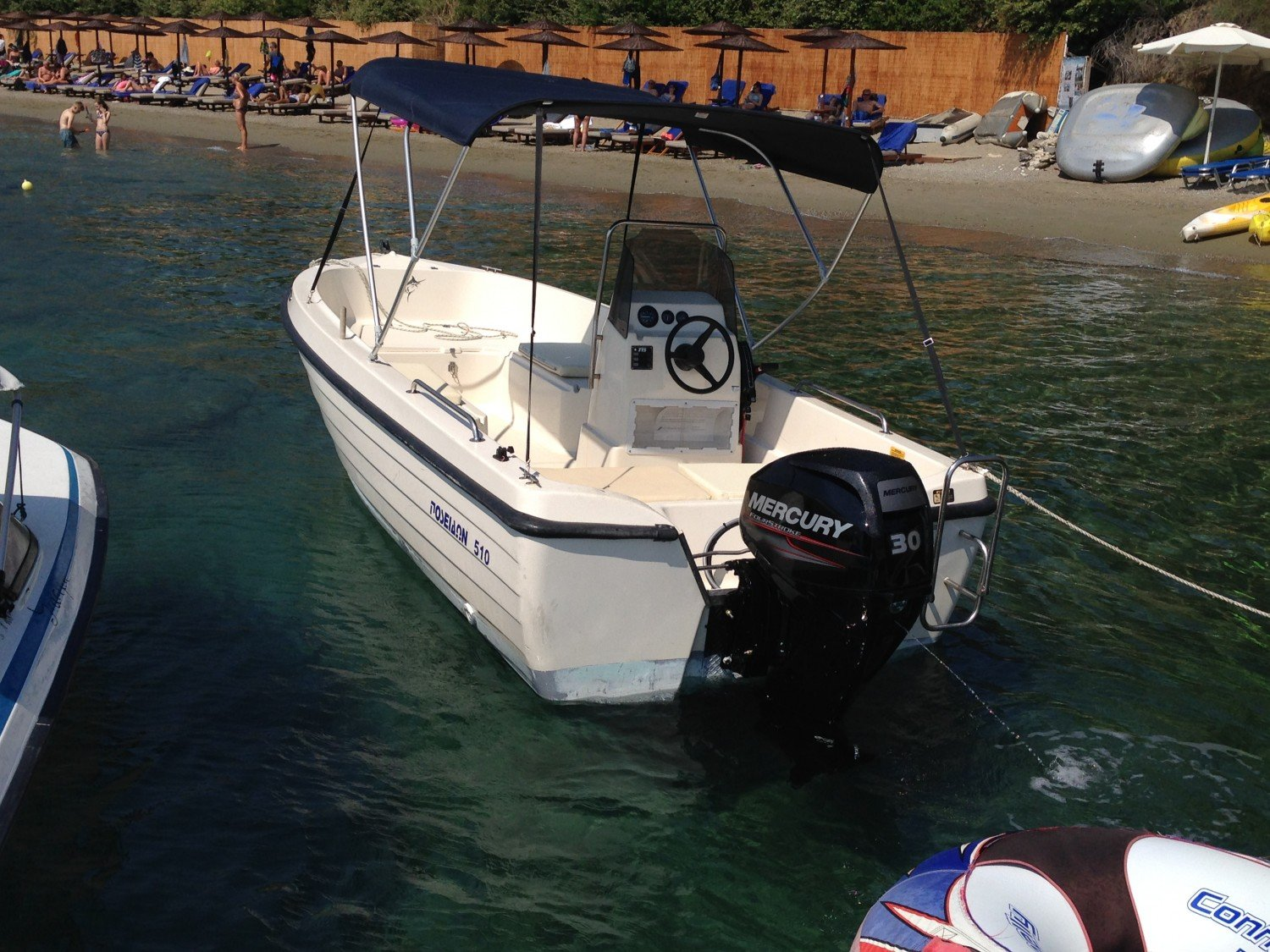 Skiathos Boat Hire at stefanos ski school