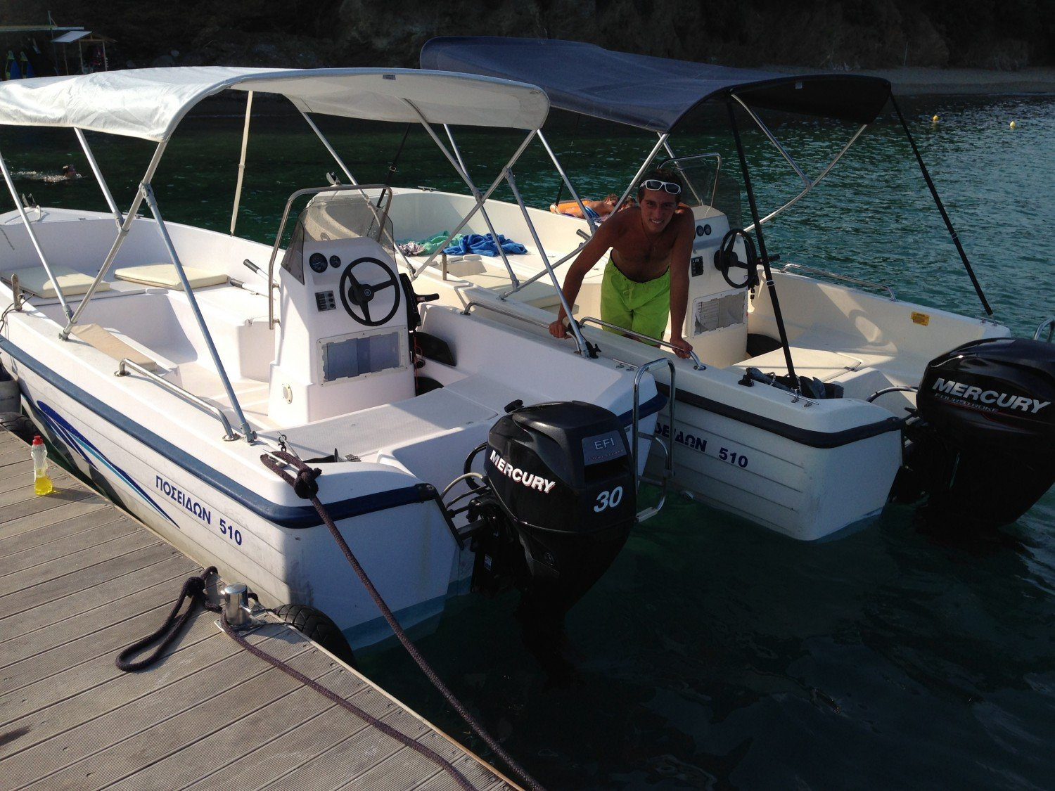 Two Boats for rent , Poseidon Boats 5.10