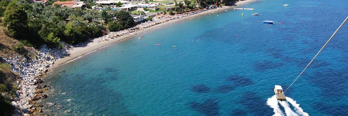 Overview of Vassilias beach