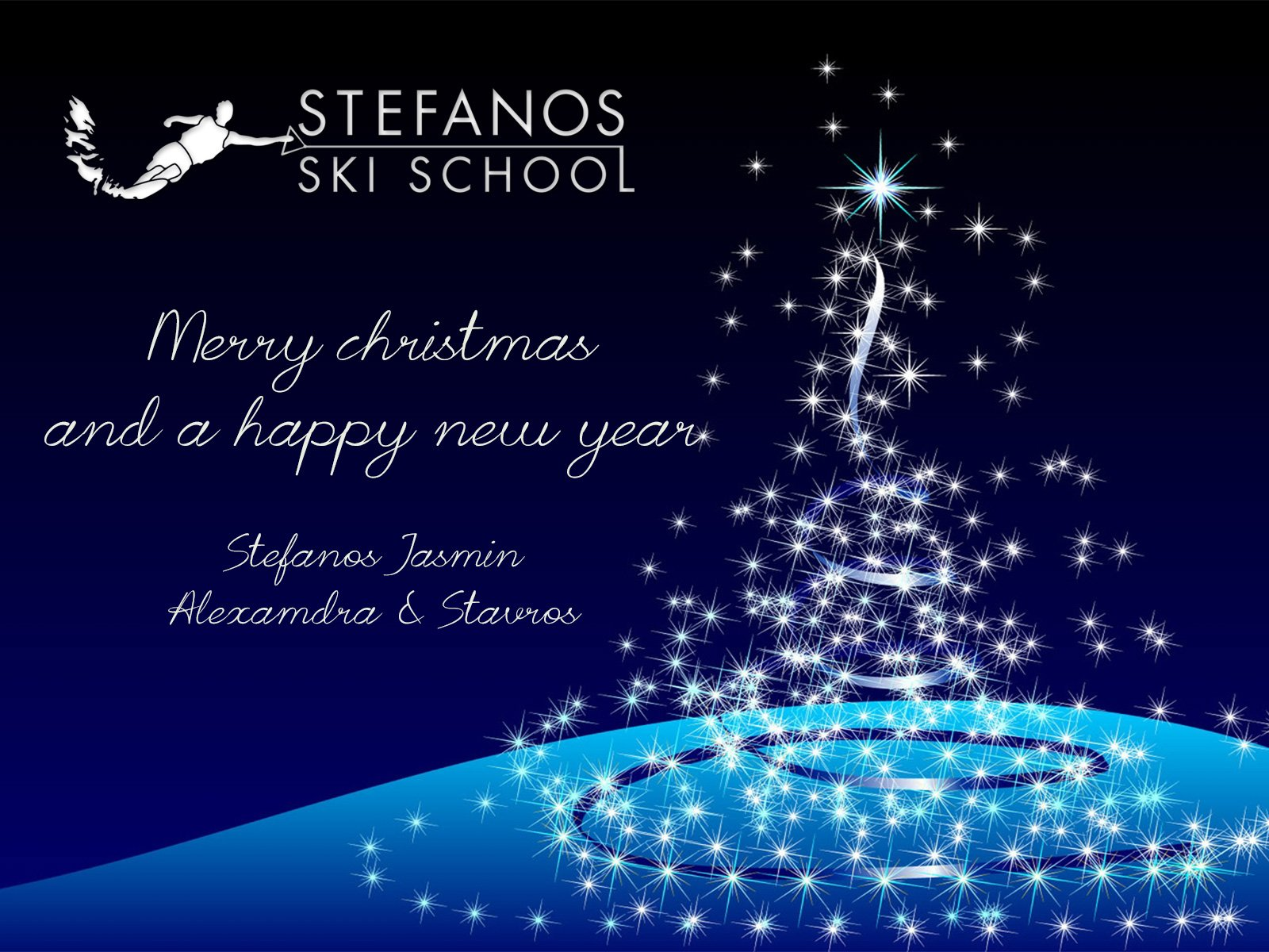 Skiathos in Christmas mood 1 Stefanos Ski School & Boat rental
