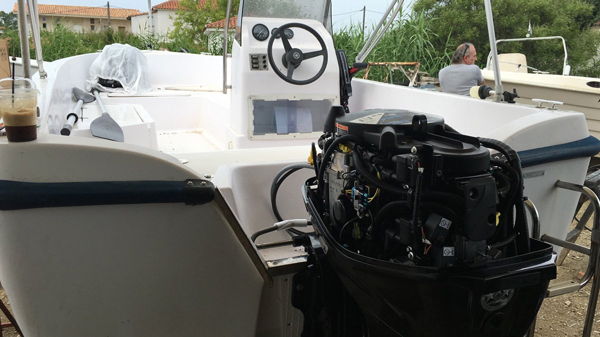 Installing the new engine this summer
