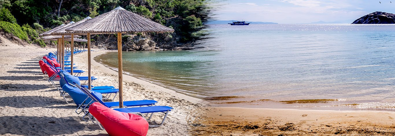 Tsougria Beach in Skiathos