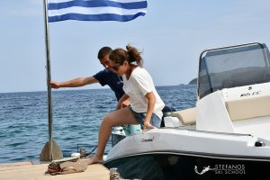 Speed boat for rent in Skiathos