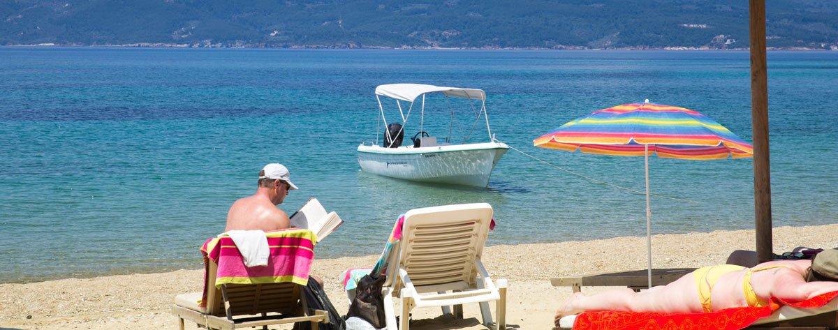 Skiathos Greece -Tsougria island