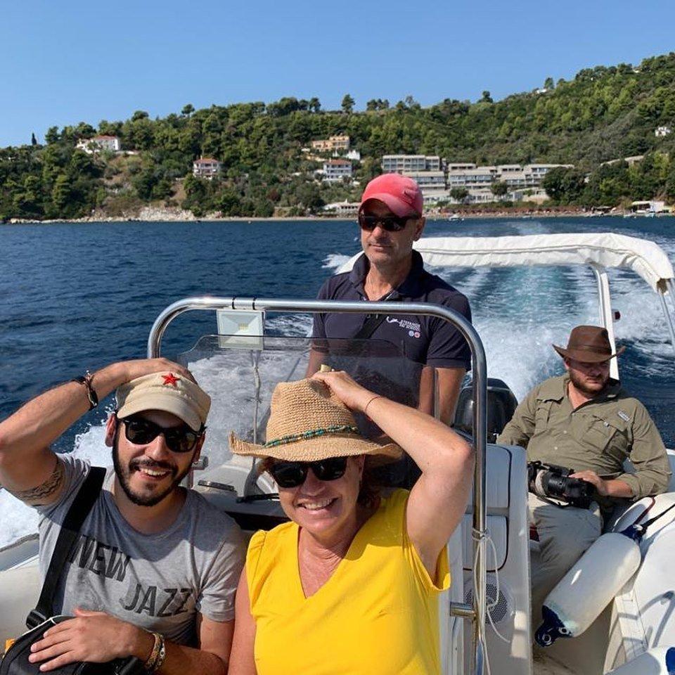 National Geographic in Skiathos 2 Stefanos Ski School & Boat rental