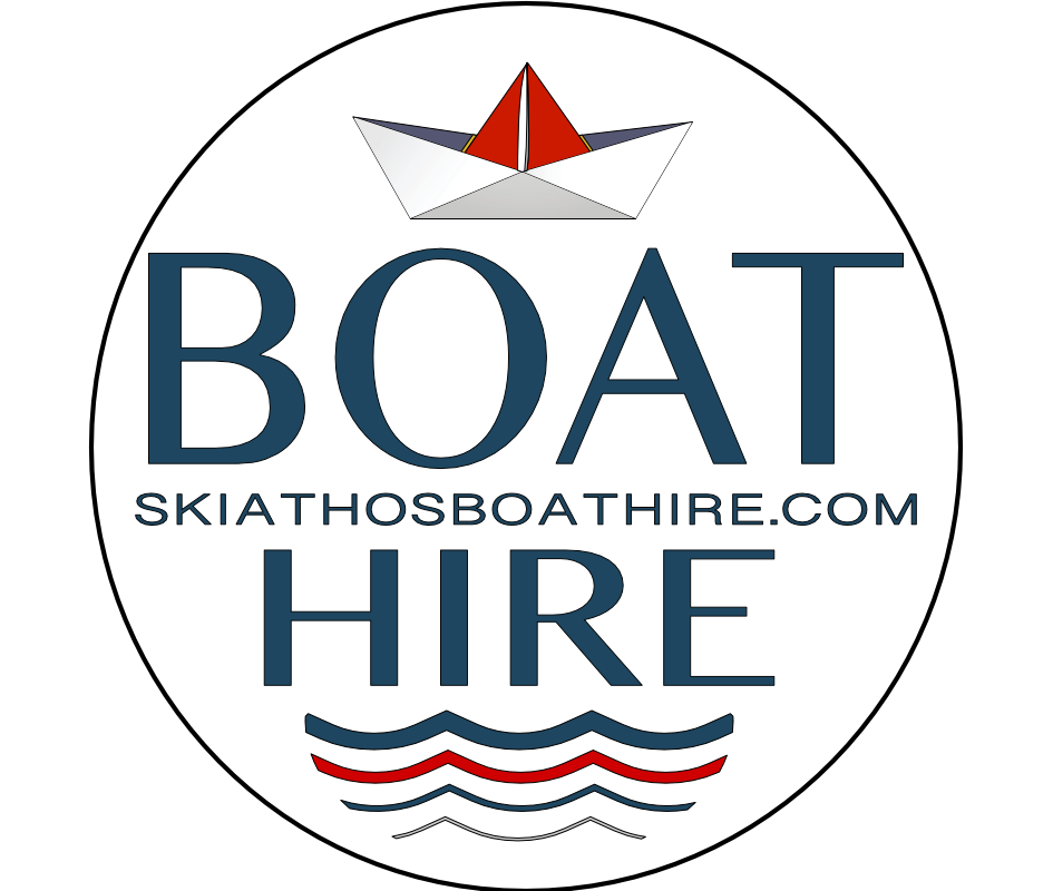 Skiathos Boat Hire official website for hiring a boat , Logo