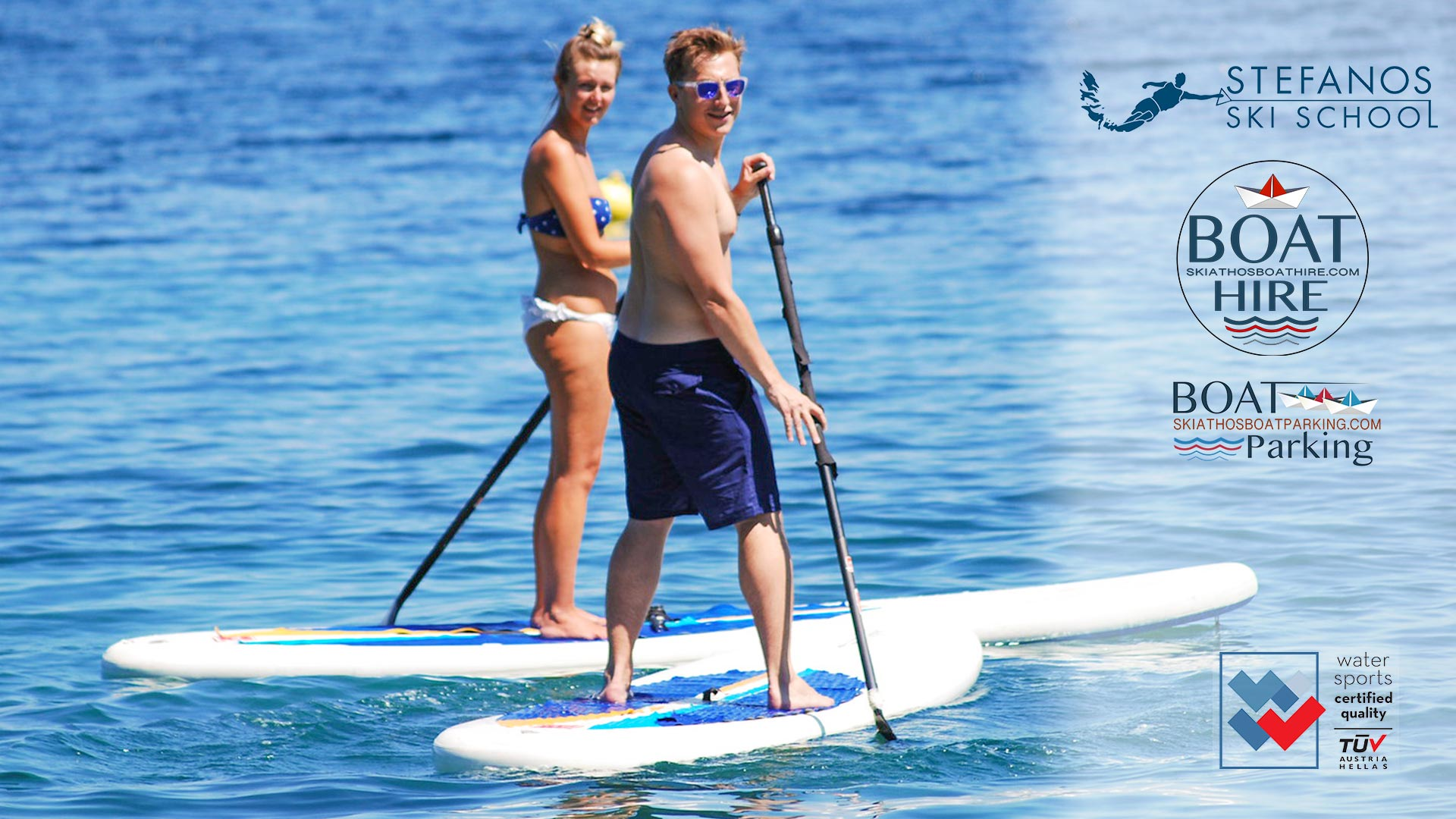 SUP, Stand Up Paddle in Skiathos