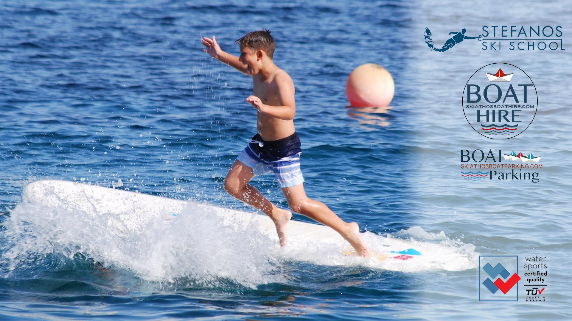 Stand Up Paddles S.U.P Exclusive offers for families 3 Stefanos Ski School & Boat rental