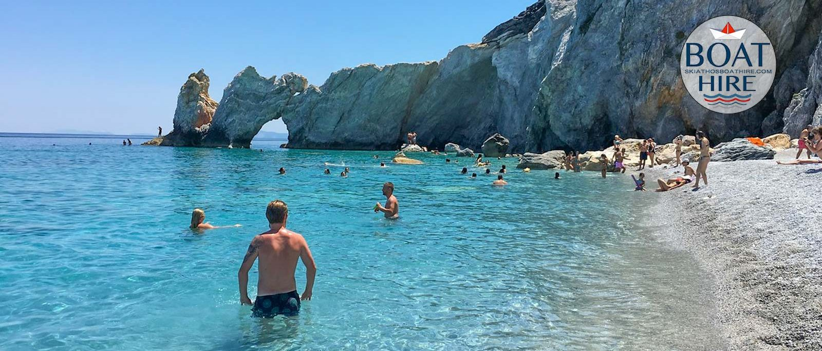 Magnificent Boat Trips to Lalaria beach with Stefano